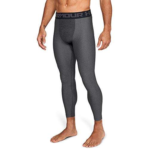 Under Armour HeatGear Armour Compression, Mallas Hombre, Gris, MD US / MD MX