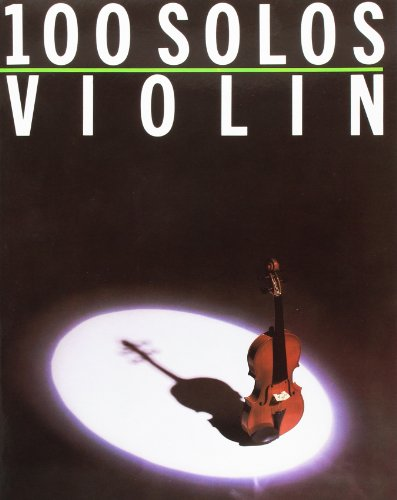 100 Solos For Violin (Album): Noten für Violine