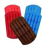 5PCS Moldes para Cubitos de Hielo,Molde de silicona para botellas de coca de 15 cavidades para,Ice Mold para Congelarse,chocolate,gelatina, cubito de hielo, Cócteles Whisky