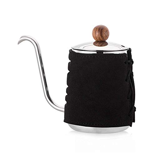 Het gieten van Coffee Pot theepot Coffee Pot Giet over Coffee Ketel RVS zwanenhals Tuit Standard Hand Drip Koffie Maker for beginners en Coffee 300ml Gooseneck Coffee Pot Thin Mouth coffee pot