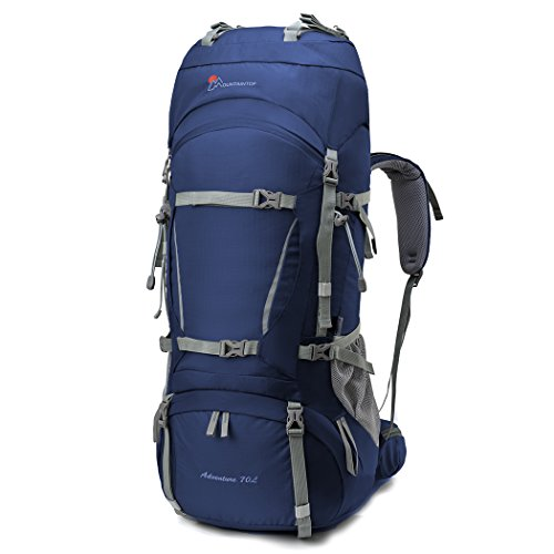 1. Mountaintop 70L+10L - Tan adaptable como necesites