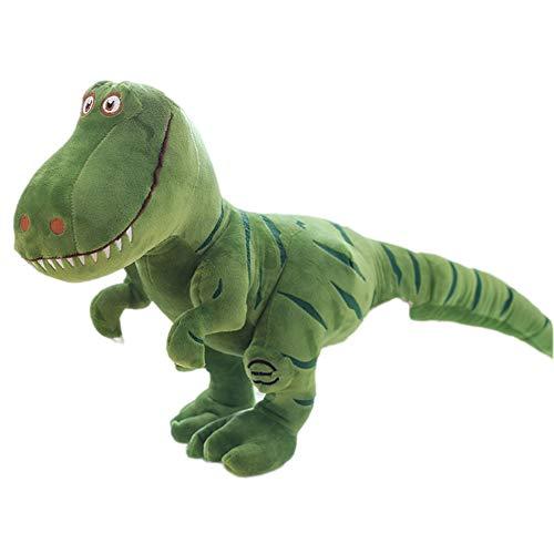 Herbests Giocattolo di Peluche Dinosauro - Simulazione Grande Peluche Dinosauro, Bambola per Bambini Carino Tirannosauro Animale Peluche Morbido Regalo per Bambini,Verde