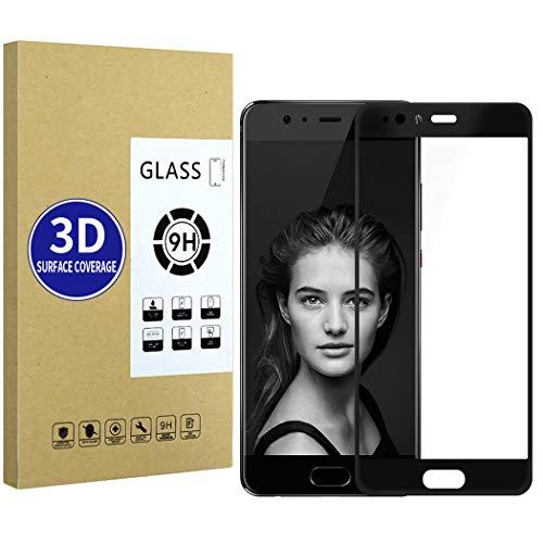 X-Dision Huawei P10 Plus (Negro) Película Protectora 3D Protector de Pantalla Completa...