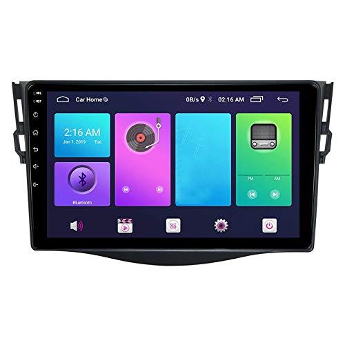 WHL.HH para A Y OTA RAV4 2006-2012 Android 9.0 Auto Cabeza Unidad GPS Navegación Poder Amplificación Estéreo Multimedia Jugador con WiFi,WiFi+4G:2+32G