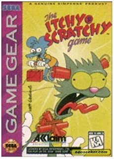Itchy & Scratchy - Sega Game Gear