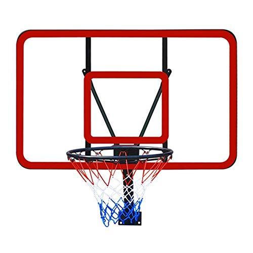 LQH Basketballkorb Kinder Basketball Brett Wand- Teens Adult Backboard Spiel Sporttraining Spielzeug 112X72Cm