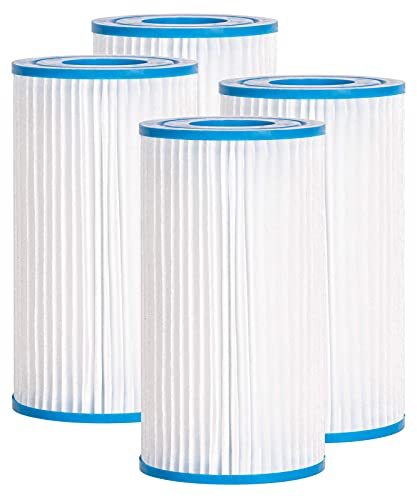 Future Way Pool Filter A or C, Compatible with Intex, Bestway, Summer Waves Above Ground Pools, Replacement for 29000E   59900E (4-Pack)