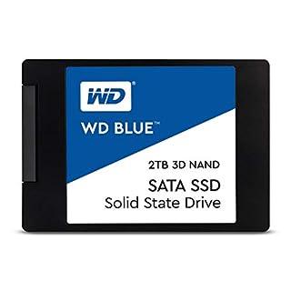 "Western Digital 4TB WD Blue 3D NAND Internal PC SSD - SATA III 6 Gb/s, 2.5""/7mm, Up to 560 MB/s - WDS400T2B0A (B07QV3XGCP) | Amazon price tracker / tracking, Amazon price history charts, Amazon price watches, Amazon price drop alerts"