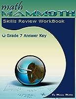 Math Mammoth Grade 7 Skills Review Workbook Answer Key