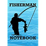 FISHERMAN: 6x9 checkered notebook for anglers, fishermen, fishing, sea, lake, fishing route lovers