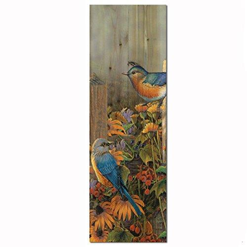 WGI-GALLERY WA-LBB-412 Linda's Bluebirds Wandbild