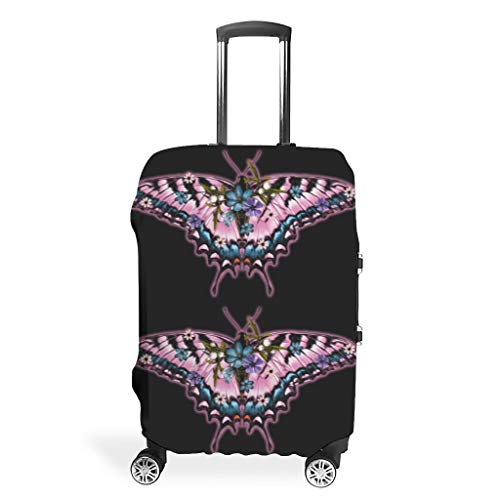 Travel Luggage Cover – Printed 4 Sizes Suit Protection Luggage Suitcase, White (White) - LIFOOST-XLXT
