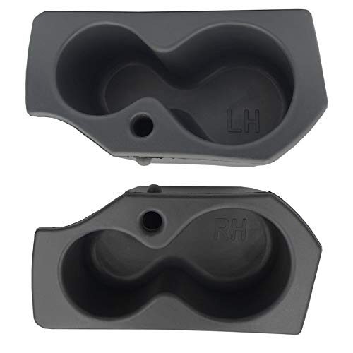 MOCW 2PCS Driver Passenger Side Door Panel Cup Holder Fit for 2009-2020 Dodge Ram 1500 2500 3500 4500 5500 Foam Holder Replaces # 5NN24XXXAA 1LD23XXXAA, 1 Pair (Left & Right)