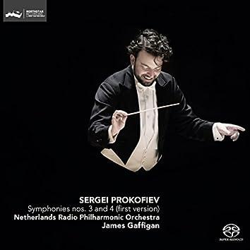 Prokofiev: Symphonies No. 3 and No. 4 (First Version)