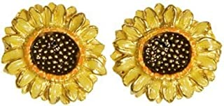 Sunflower Earrings, from Our Museum Jewelry Reproductions