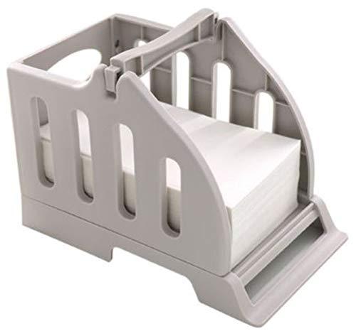 ART BOX Etikettenhalter für Rollen und Fächerfalt-Etikettenhalter, Kunststoff-Etikettenpapierhalter von Thermo-Barcode-Sticker, Etikettendrucker für die Lieferung
