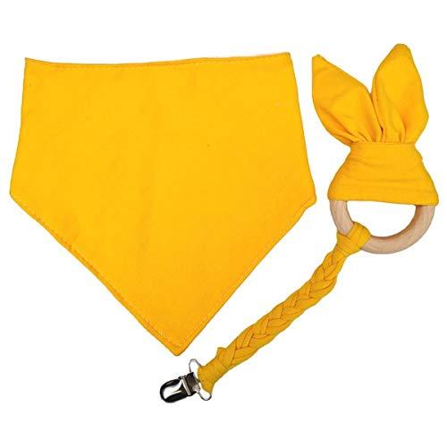 YiXing Baberos de bebé para niños y niñas recién nacidas, bandana de algodón suave, bufanda triangular, toalla de saliva infantil (color : Dios)