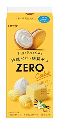 ロッテ ゼロ シュガーフリーケーキ(発酵バター×バニラ) ×5袋
