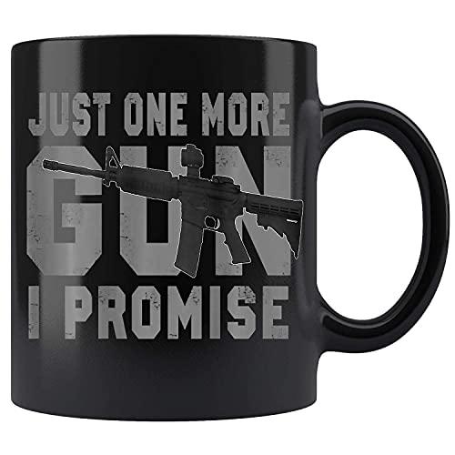 N\A Solo una Pistola más Que Prometo (en la Parte Posterior) Taza de café de cerámica Taza de té