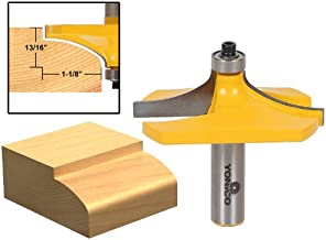 Yonico 13141 Thumbnail Table Edge Router Bit with Large 1/2-Inch Shank