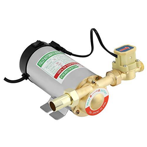 TTLIFE Bomba de Refuerzo para el Hogar Bomba de Refuerzo Automática de Tubería de 150 W Calentador de Agua del Grifo Bomba de Circulación de Presión de Agua Fría y Caliente para Ducha Hogar