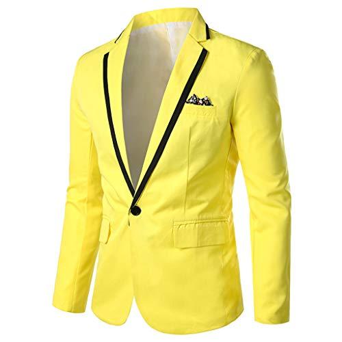 남자 캐주얼 블레이저 재킷 슬림 피트 경량 솔리드 컬러 원 버튼 플랩 포켓 라펠 슈트 재킷 스포츠 코트