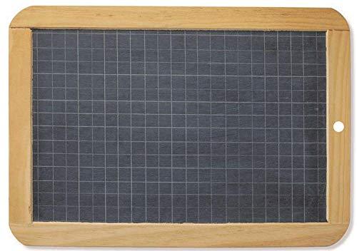 Maped M258550 - Tafel aus Naturschiefer, Doppelseitig, schwarz