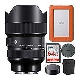 Sigma 14-24mm f/2.8 DG DN Art Lens for Sony...