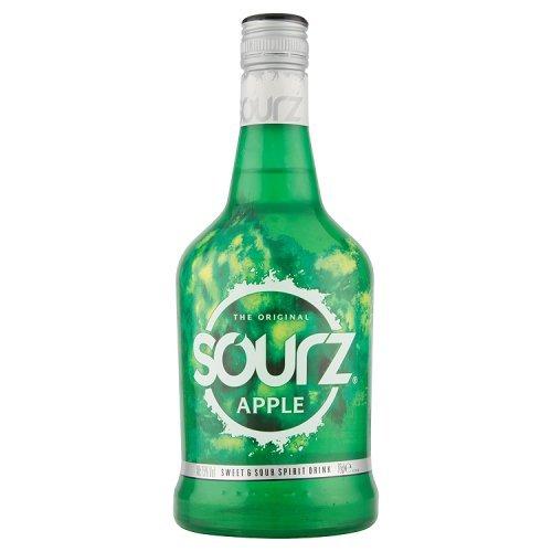 Sourz Apfel Likör, (1 x 0,7 l)