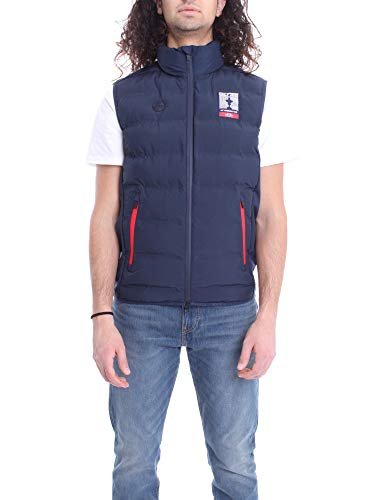 Luxury Fashion | North Sails Heren 4501030802 Donkerblauw Polyamide Gilets | Lente-zomer 20
