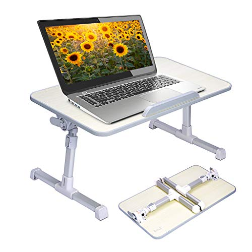 Neetto Height Adjustable Laptop Bed Table,...