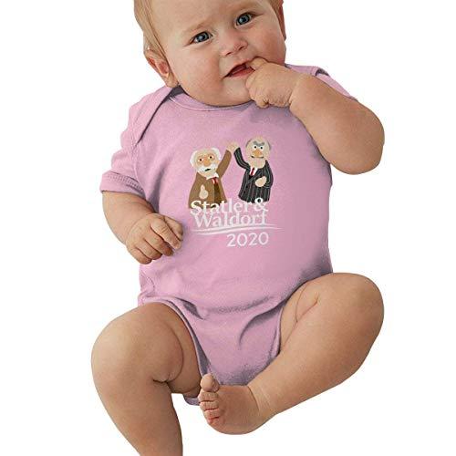 KNKN Statler & Waldorf 2020 Unisex Baby Jersey Body Baby Romper Todo Algodón