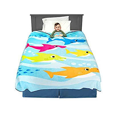 "Franco Kids Bedding Super Soft Plush Blanket, Twin/Full Size 62"" x 90"", Jurassic World"