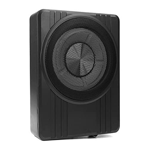 "LQIAN 10"" 600W Ultra Thin Subwoofer Car Active Subwoofer Audio Speaker Amplifier Bass Amplifier Car Subwoofer Sub"