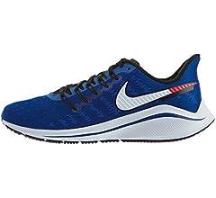 NIKE Air Zoom Vomero 14 Zapatillas de Atletismo, Hombre, Multicolor (Indigo Force/Photo Blue/Red Orbit 400), 40.5 EU: Amazon.es: Deportes y aire libre