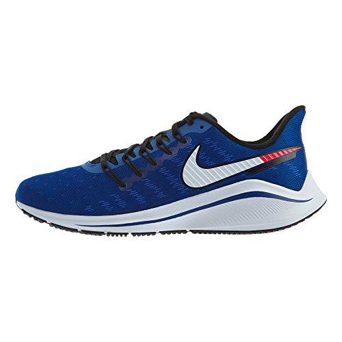 Nike Men's Air Zoom Vomero 14 Track & Field Shoes, Multicolour (Indigo Force/Photo Blue/Red Orbit 400), 8 UK