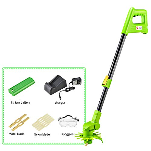 Check Out This YF-1 Electric Grass Trimmer Edger Lawn Mower Lithium-Ion Cordless Grass Brush Cutter ...