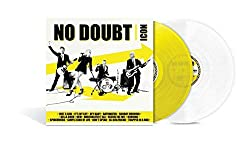 No Doubt ICON - Exclusive Limited Edition Yellow & White Colored 2x Vinyl LP
