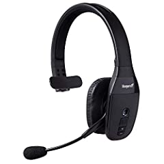 INDUSTRY LEADING SOUND: The BlueParrott B450 XT Noise Cancelling Bluetooth Headset is engineered for superior calls in high noise environments; Block out background noise with 96% noise cancellation LONG WIRELESS RANGE: Walk and talk with no worries;...