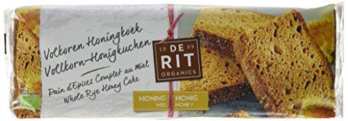 DE RIT Honigkuchen, Vollroggen, 8er Pack (8 x 300 g)