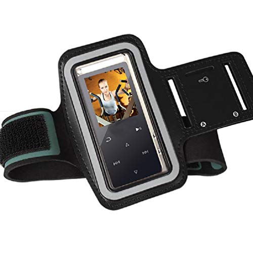 CCHKFEI Running Armband Slim Lightweight Adjustable Gym Sport Wrist Strap MP3 Player Armband Sweatproof and Breathable Function,Suitable for Workout,Key Pocket and Earphone Hole Provided