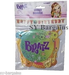 BRATZ KIDZ HAPPY BIRTHDAY BANNER PARTY DECORATING, CELEBRATIONS, PARTIES BUNTING