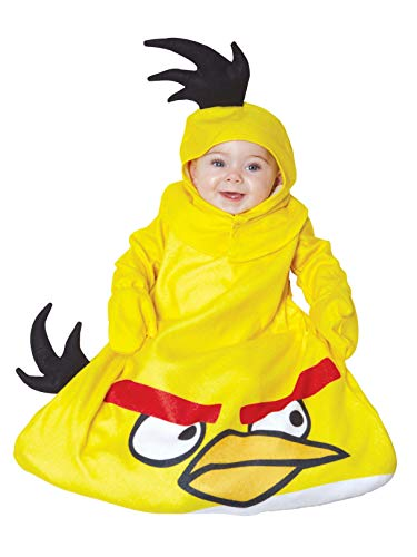 Bird bunting infant costume size yellow Angry Birds Angry Birds Yellow Bird Bunting Infant Costume: Infant (0-9 Months) (japan import)
