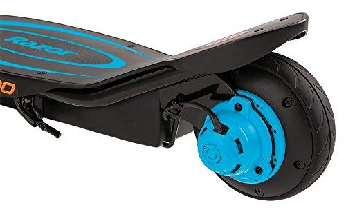 Razor Power Core E100 scooter elettrico di colore Blu e freno a manubrio