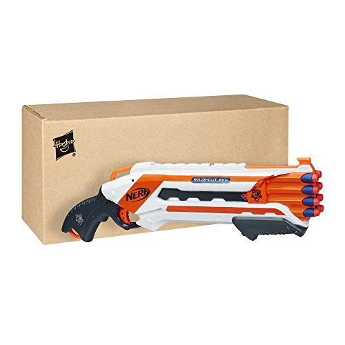 Nerf Elite Rough Cut 2x4 et Flechettes Elite Officielles