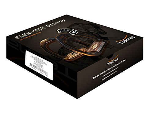 Tekna Stirrup Flex-Tek, zwart, synthetisch, 12 cm, met voeg- en metalen pad, incl. gereedschap wijzigen