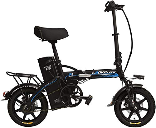 New Xiaochongshan R9 Portable Collapsible Pedal 14 inches Assisted Electric Bicycles, 48V 23.4Ah a S...