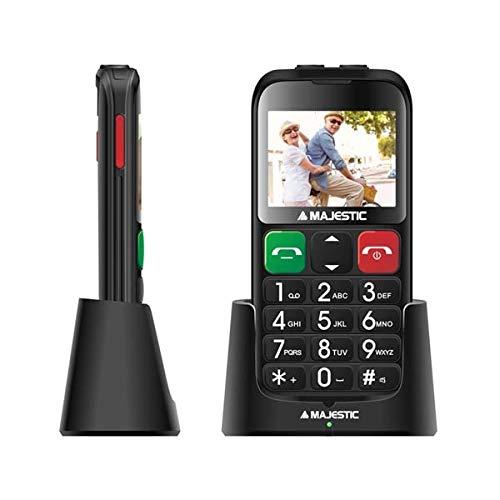 Majestic SILENO 32 2,31 Zoll Display, SOS-Taste, Bluetooth, Kamera, Doppel-Taschenlampe LED