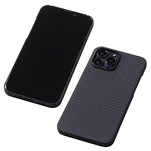 Deff(ディーフ) Ultra Slim & Light Case DURO for iPhone 13 デュポン社ケブラーを使った 5G通信に影響...