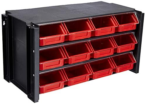 Tayg - Estante con clasificador apilable plástico 12 cajones